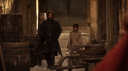 Arya and Yoren 1x10