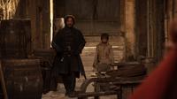 Arya and Yoren 1x10