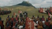 Lannister army reaches Highgarden s7