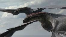 Дрогон и Рейгаль в полёте 8x04