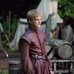 Joffrey travelling south in