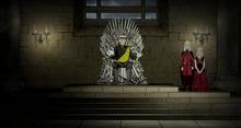Aegon II on the Iron Throne