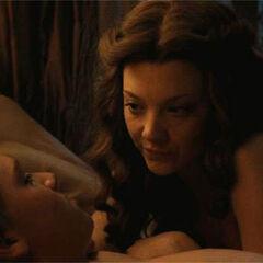 Margaery i jej nowy mąż spędzają razem noc.