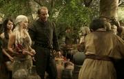 Jorah e Dany no mercado de vinhos