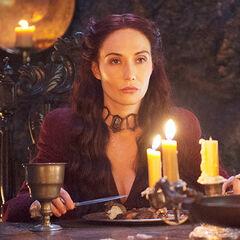 "Melisandre je obiad ze Stannisem i Selyse, ""<a href="