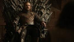 Эддард на Железном троне 1x06