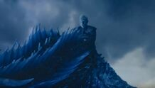 Night king rides viserion