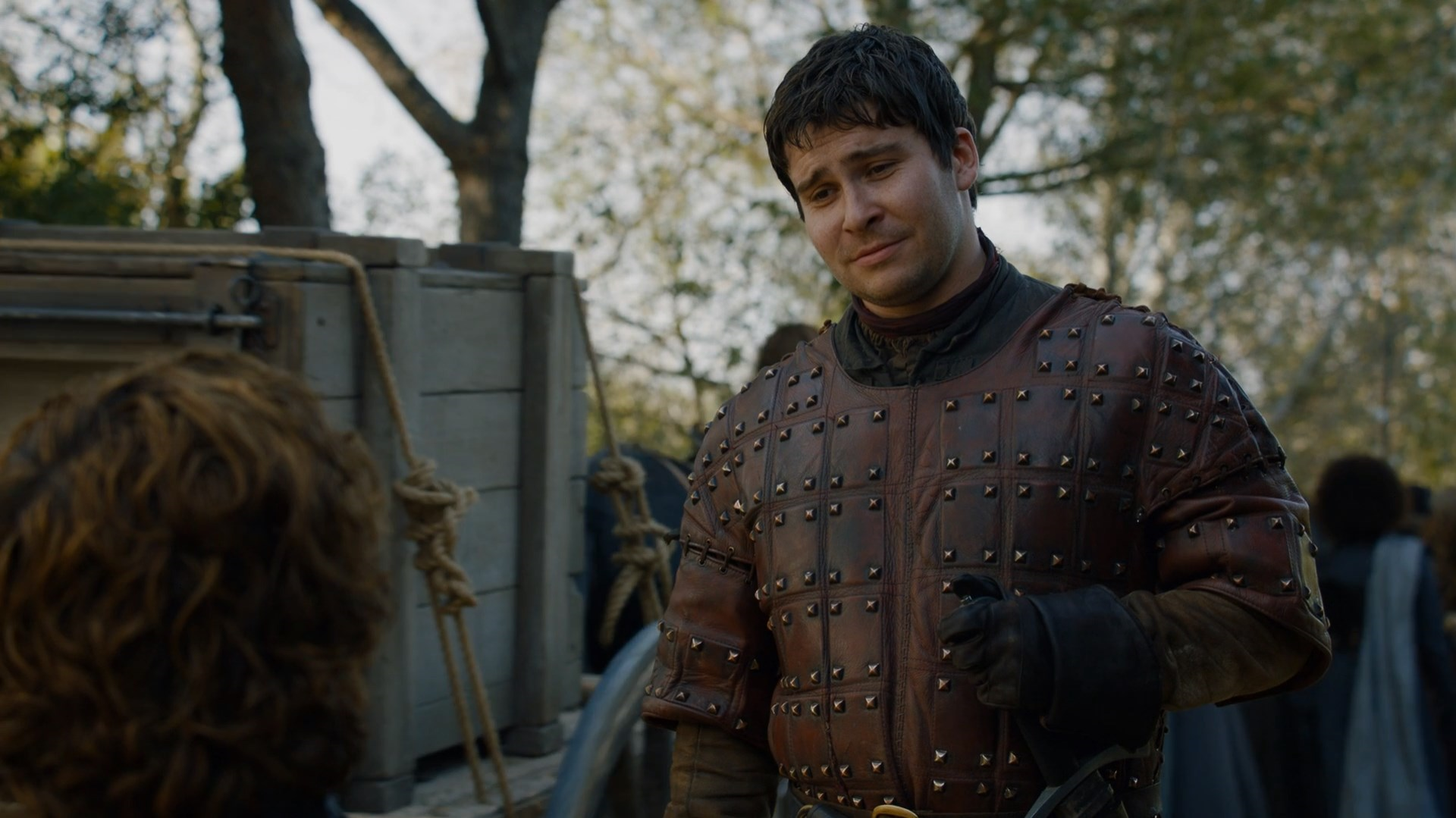 Game of Thrones character Podrick Payne.