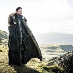 Jon na Smoczej Skale.