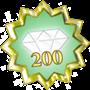 Love 200 guld