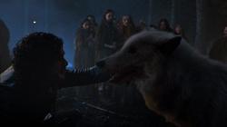 S04E5 - Jon Snow & Ghost