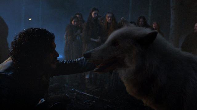 File:S04E5 - Jon Snow & Ghost.png