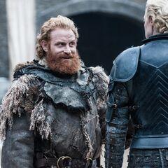 Tormund uwodzi Brienne.
