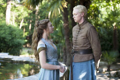 Brienne and Margaery