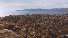 HBO-Baía da Água Negra vista da Fortaleza Vermelha