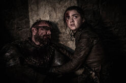 Arya & Beric's Death S8 EP3