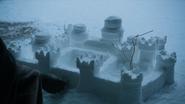 4x07 Винтерфелл из снега