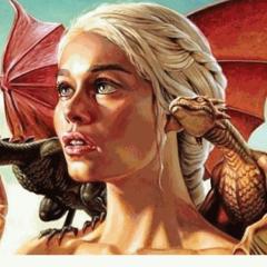 З драконами (фанарт)