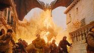 Дрогон сжигает город 8x05