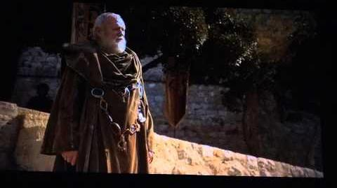 Comic-Con 2013 - Game of Thrones - Tywin Lannister & Grand Maester Pycelle deleted scene