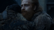 Jon and Tormund bid farewell