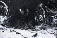 Теон и Санса под деревом 6x01