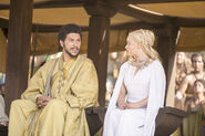 Daenerys and Hizdahr The Dance of Dragons
