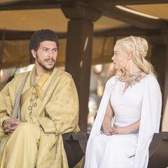 Daenerys i Hizdahr zo Loraq.