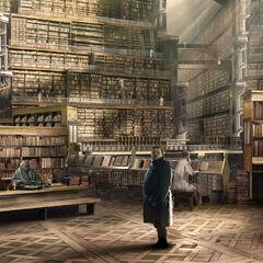 Die Große Bibliothek der Zitadelle von <i>Kieran Belshaw</i>