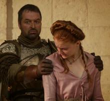 Sansa and Meryn 1x10