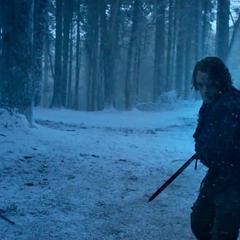Theon ratuje Podricka.