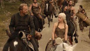 104 Jorah und Daenerys reiten