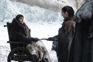 704 Bran übergibt Arya den Dolch