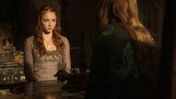 Серсея запугивает Сансу 1x08