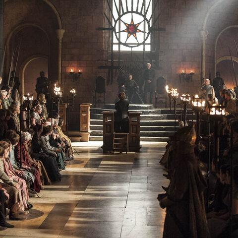 Tyrion steht vor Gericht