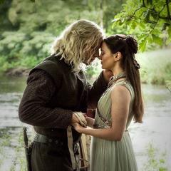 Lyanna i jej sekretny mąż.