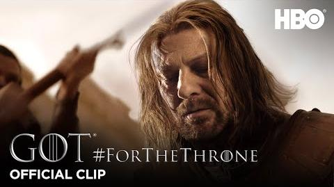 """Bring me his head"" ForTheThrone Clip Game of Thrones Season 1"