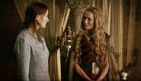 Санса и Серсея 2x07