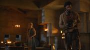 Daario visits daenerys