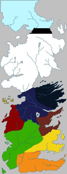 Regionen Westeros