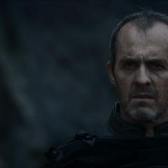 """Stannis ogląda odejście Melisandre, """"<a href="""