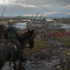 Ankunft von Podrik und Brienne