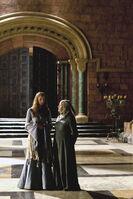 Санса и септа Мордейн 1x04