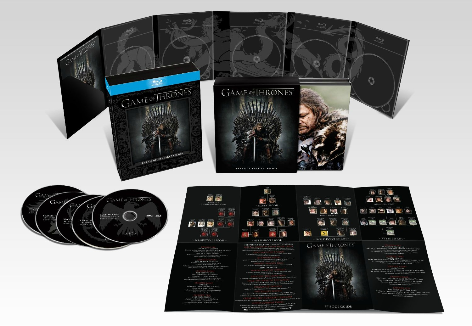 game of thrones season 1 for sale