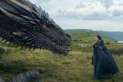 HBO drogon and Jon
