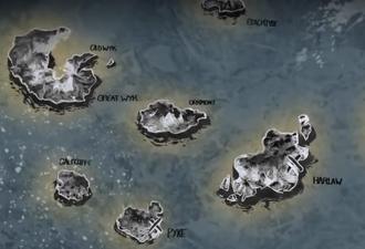 Iron Islands map Histories and Lore Season 2 Greyjoy Rebellion