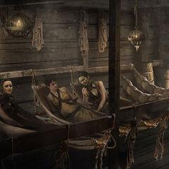 Die Sandschlangen auf dem Schiff von Asha Graufreud