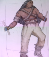 Khal Drogo costume concept art