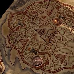Мапа Міеріна з <a class=