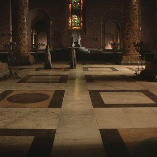 Die Große Halle unter der Herrschaft von König Robert